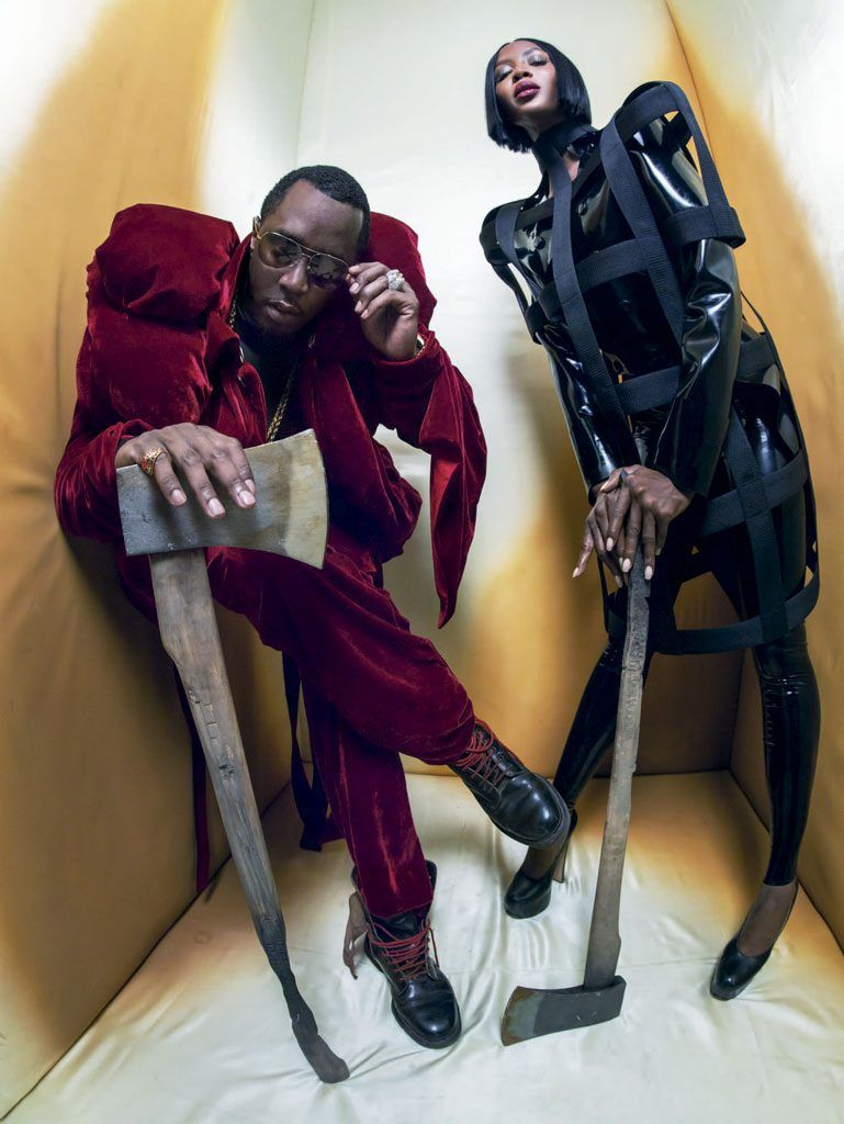 26 THE BEHEADER NAOMI CAMPBELL AND SEAN DIDDY COMBS